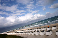 strandhus royaltyfria bilder