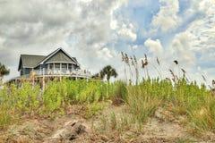 Strandhuset Arkivbild