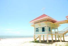 strandhuswhite Fotografering för Bildbyråer
