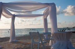 Strandhuwelijk Stock Foto's