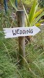 Strandhuwelijk Royalty-vrije Stock Fotografie