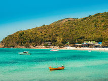 Strandinsel Ko Lan thailand Stockfoto