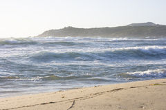 stranditaly majore rena sardinia Arkivfoton