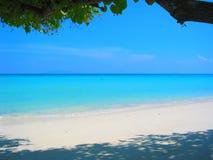 strandiv-paradis thailand arkivbilder