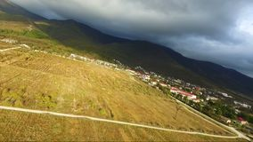 Strandja Berg, Bulgarien Ansicht der schönen Berglandschaft stock video footage