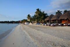 strandjamaica semesterort Royaltyfri Bild