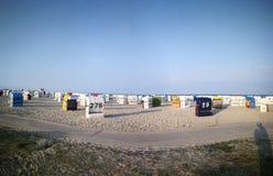 Strandkörbe стоковое фото