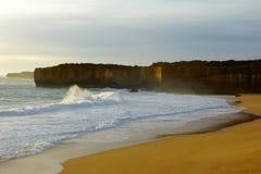 Strandküstenlinie Lizenzfreies Stockbild