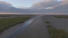 Strandküstenlinien-Ufernatur stock footage
