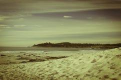 strandKalifornien carmel Arkivbilder