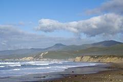 strandKalifornien liggande Arkivbild