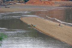 Strandkamm - Xiapu-Landschaft stockfotografie