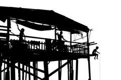 Strandkanthydda Arkivfoto