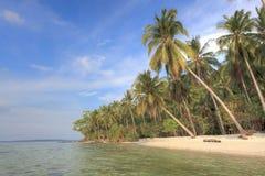 strandkarimunjawa Royaltyfri Fotografi