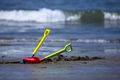 Strandkindspielwaren Stockfoto