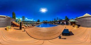 Strandkomplex in Sochi Adler-Bezirk Moskau-Strand Stockfotos