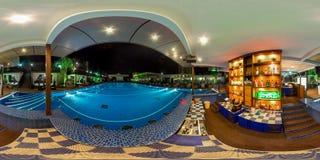 Strandkomplex in Sochi Adler-Bezirk Moskau-Strand Stockbild