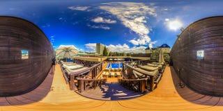 Strandkomplex in Sochi Adler-Bezirk Moskau-Strand Lizenzfreies Stockbild