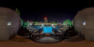 Strandkomplex in Sochi Adler-Bezirk Moskau-Strand Lizenzfreie Stockbilder