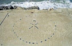 Strandkonst Royaltyfri Foto