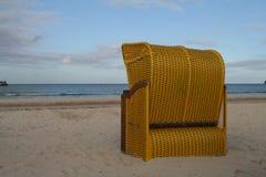 Strandkorb Allemand de l'Est   image libre de droits