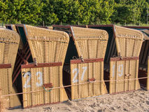 Strandkorbs Stock Images