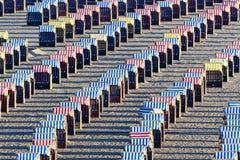 Strandkorgar Royaltyfri Bild