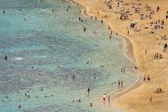 strandkust Royaltyfria Bilder