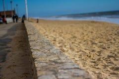 Strandkustlijn Royalty-vrije Stock Foto's