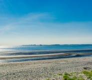 Strandlandschaftsküstenansicht Lizenzfreies Stockbild