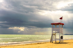 Strandlandschap Stock Afbeeldingen