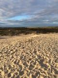 Strandlandskapfoto Arkivfoto
