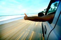 Strandlaufwerk lizenzfreie stockbilder