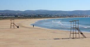 strandlebanon däck arkivbild