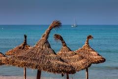 Strandlebensstil Stockfoto