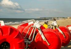 Strandleksaker Royaltyfri Bild