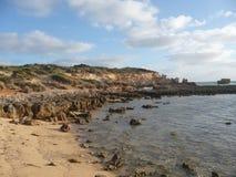 strandlimestone Arkivbild