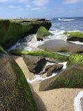 Strandliten vik Royaltyfri Foto