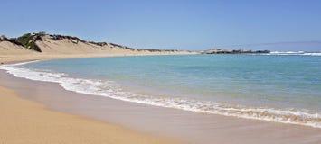 Strandliten viklandskap Arkivbilder