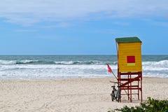 Strandlivräddare Royaltyfri Bild