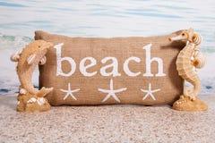 strandlivstid fortfarande Royaltyfri Fotografi