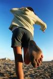 Strandmädchen Stockbild