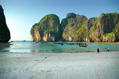 strandmaya Royaltyfri Fotografi