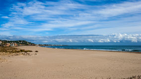 Strandmeningen Stock Foto's