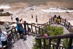 strandmexico tulum yucatan Royaltyfri Bild