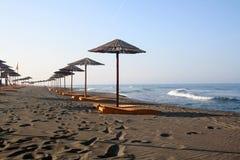 strandmorgon Arkivbilder