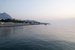 strandmorgon Royaltyfri Foto