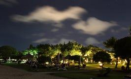 Strandnacht stockfoto