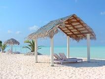 Strandnahe Landschaft Stockbild