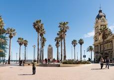Strandnahes Glenelg, Adelaide, Süd-Australien Lizenzfreie Stockfotos